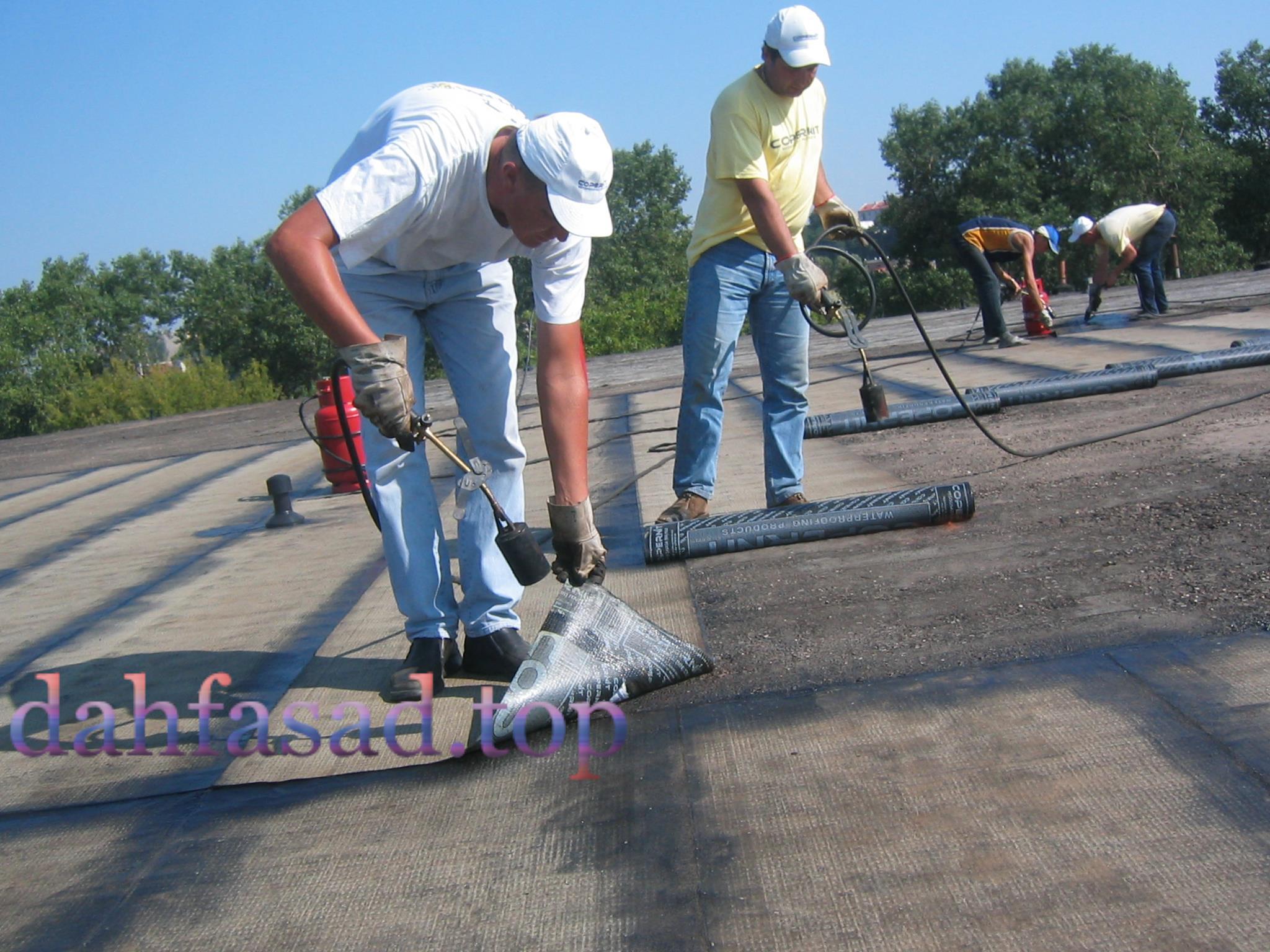 Монтаж і ремонт покрівлі.  Технології ремонту різних видів покрівлі