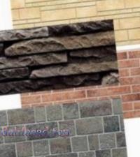 Облаштування фасаду панелями «під цеглу»