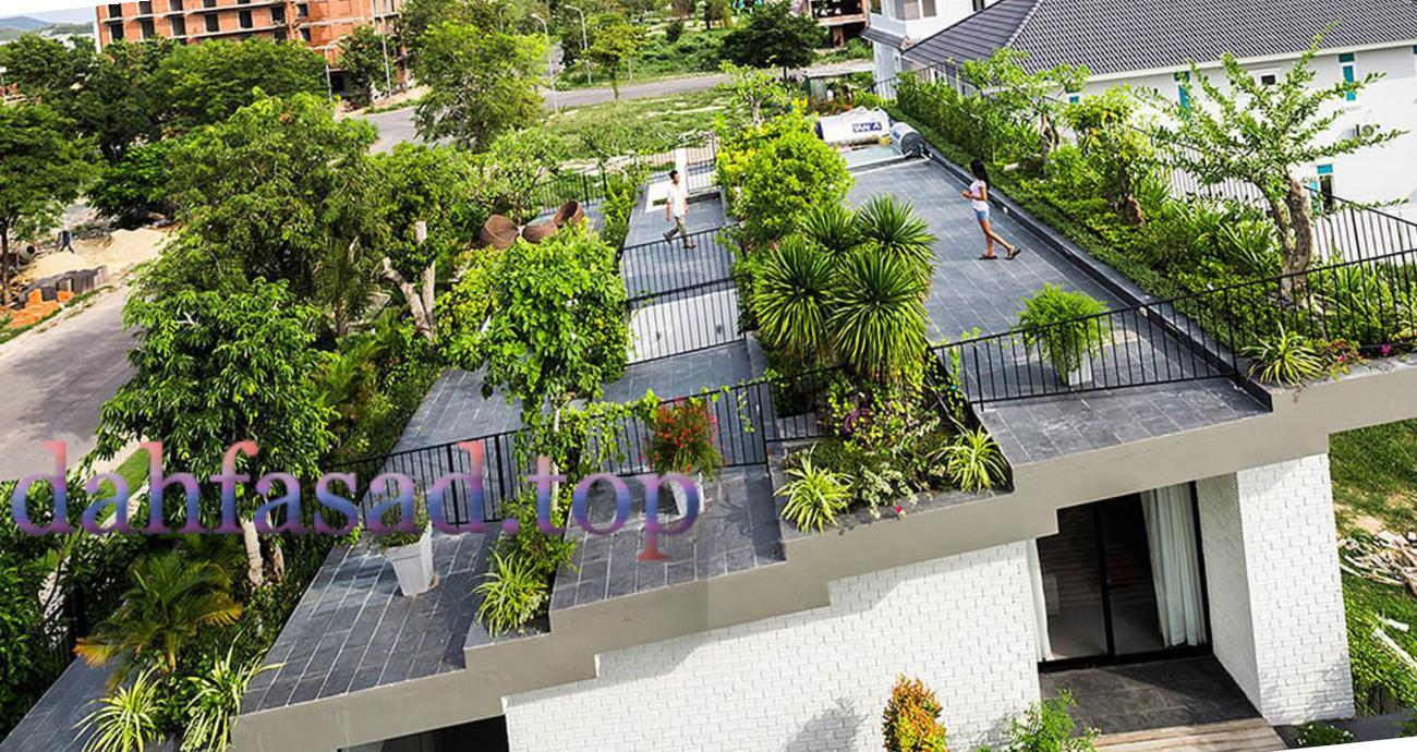 Озеленення та благоустрій даху